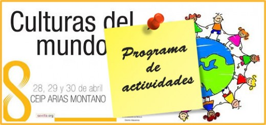 Programa de actividades Semana Cultural 2014