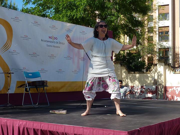 Elena Redondo - Danza Kathakali
