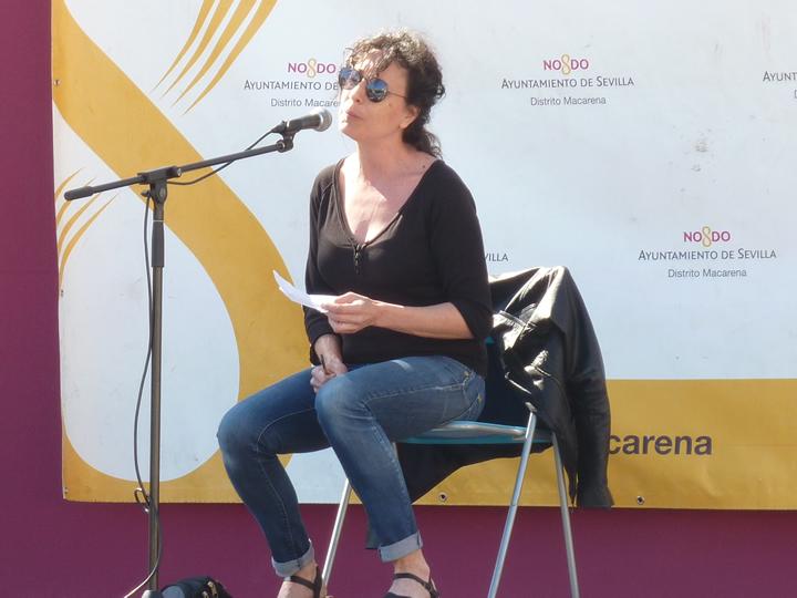 La madre de Juan Reyes cantando fado