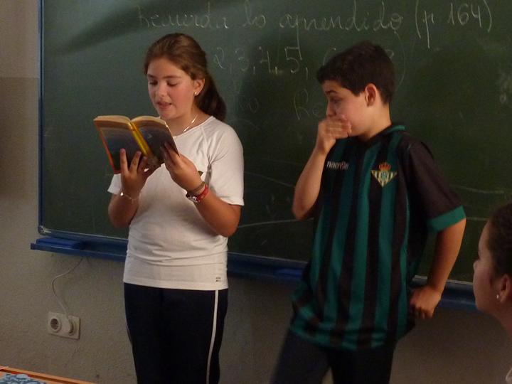 Actividades de animación a la lectura.