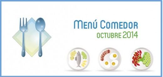 Menú comedor octubre 2014