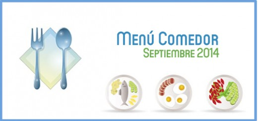 Menú Comedor septiembre 2014